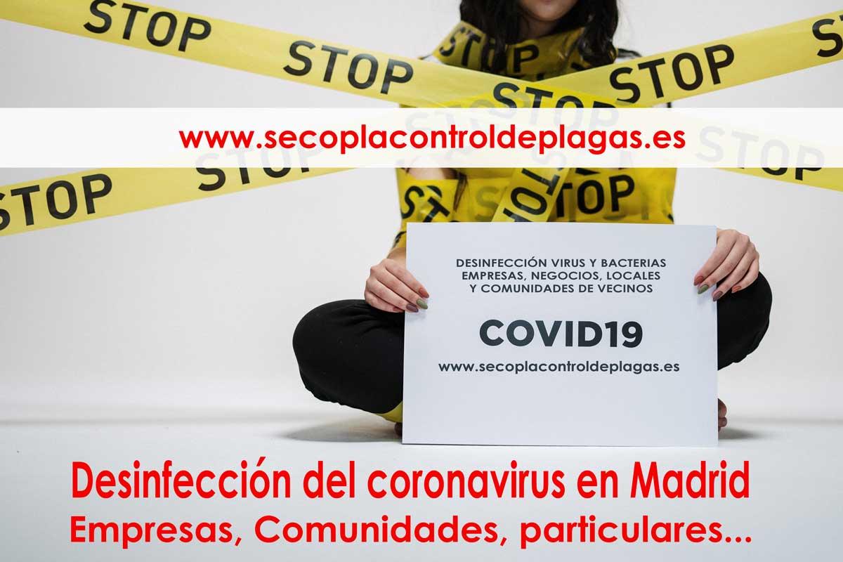 limpiar desinfectar coronavirus
